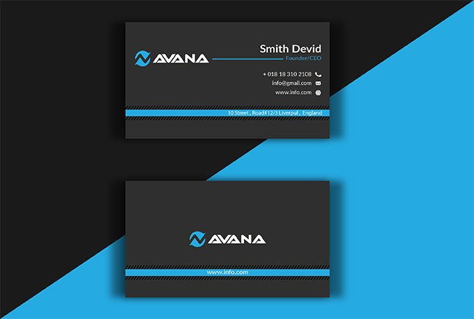 I will design minimalist Luxury and professional business card