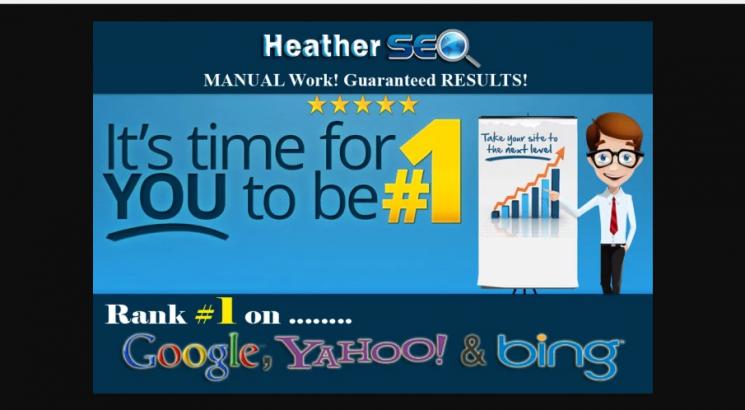 I will do high pr SEO backlinks for rankz 1 on google
