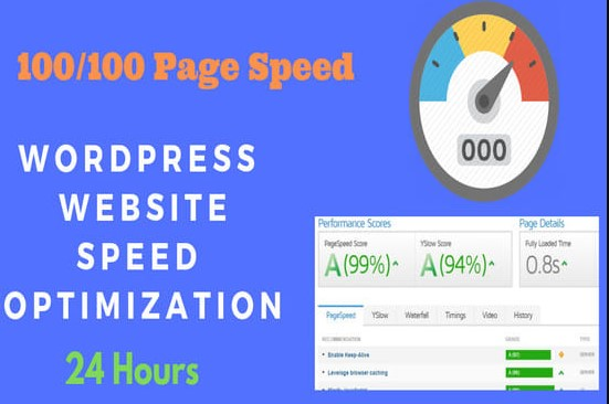 I Will Do Increase Your Wordpress Website Site Speed Optimization