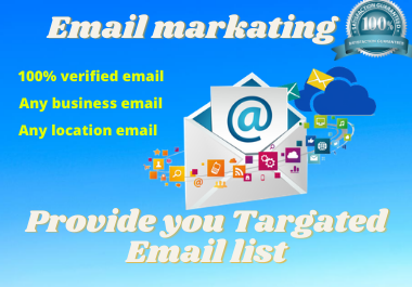 I will provide 2000 niche related active bulk email list.