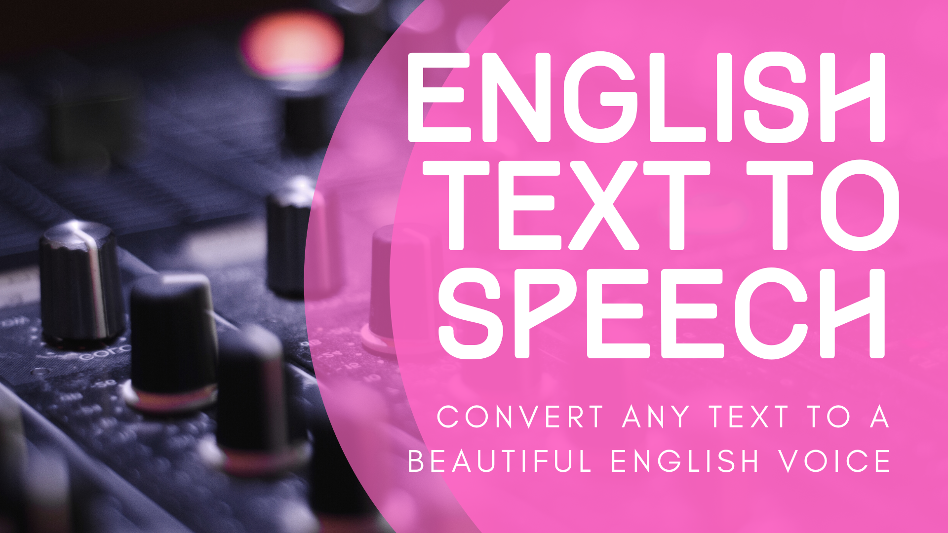 I Will Convert Any Text Into Beautiful speech/ Voice Over For You