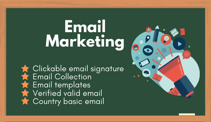 I will do email marketing related tasks