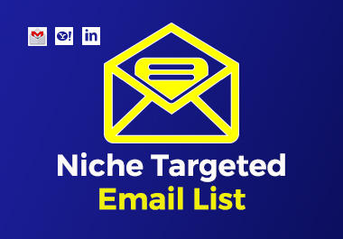 I will collect 1k niche targeted verified email list