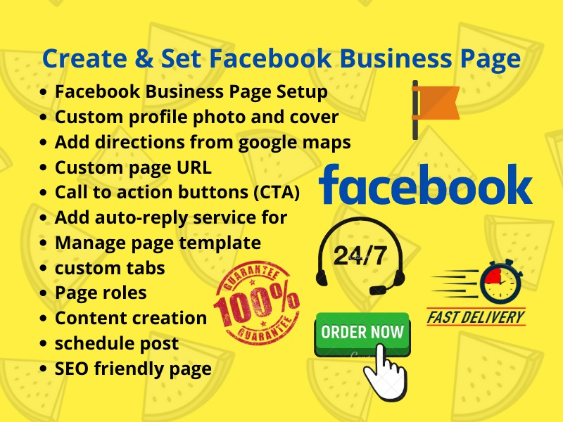 create and manage professional Facebook business page