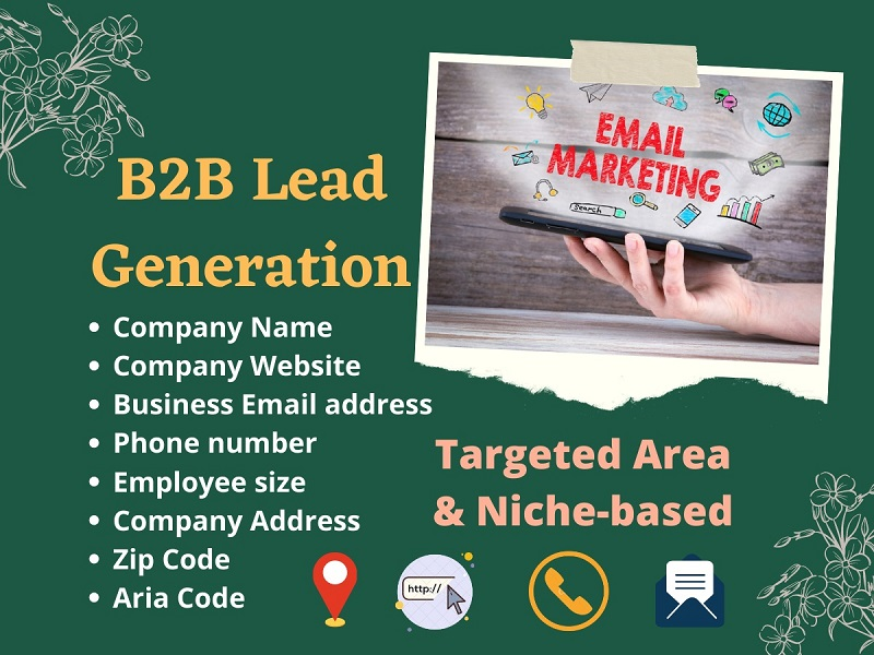 I will provide 200 b2b lead generation