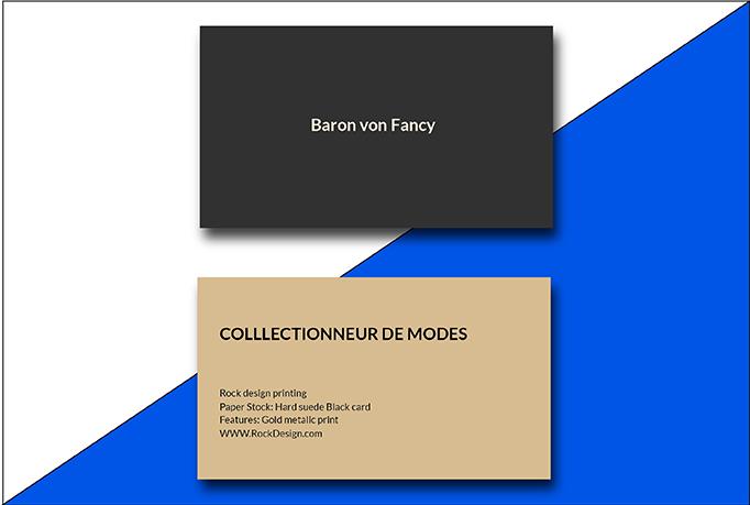 I will do Professional Minimalist Luxury Business Card