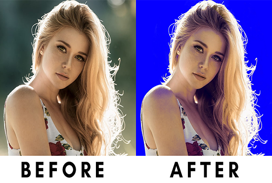 I will do 10 image background removal fast delivery