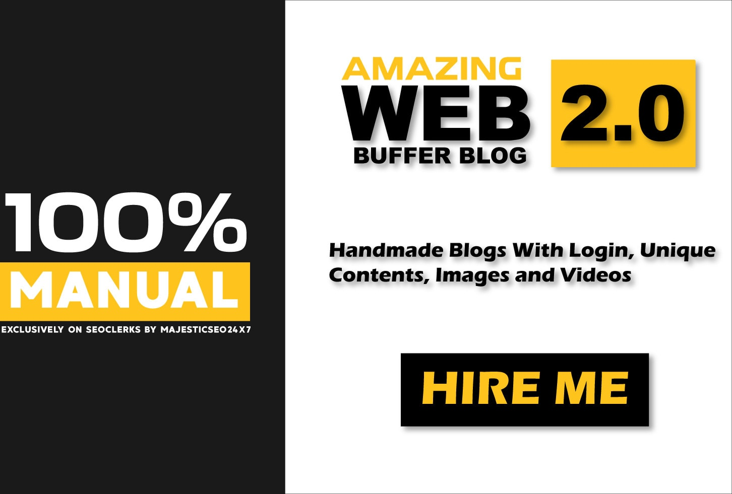 create 10 amazing web 2 0 blog properties with login details