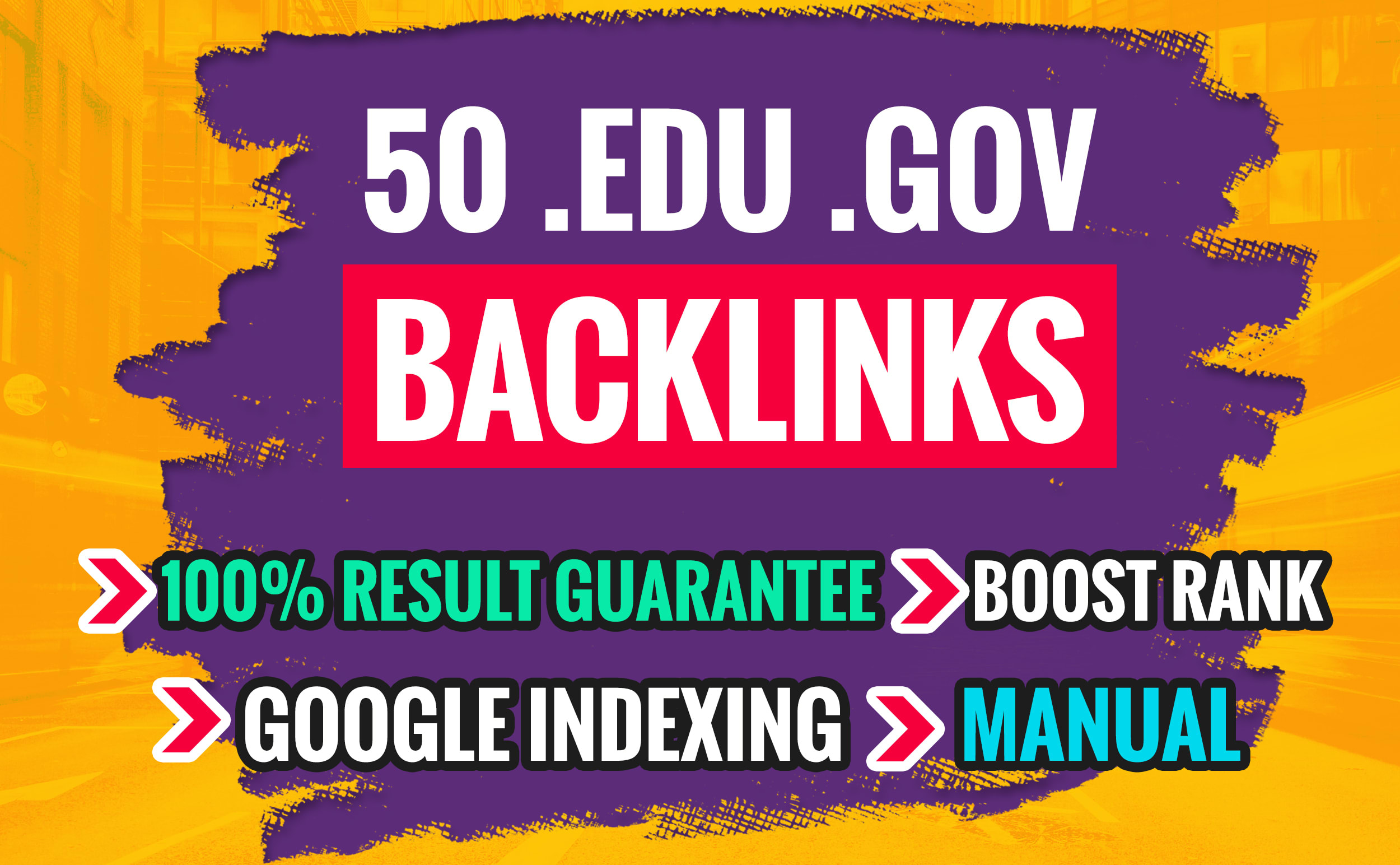 do trusted 50 link building, backlinks for off page SEO