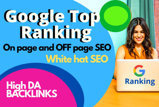 do google top ranking with monthly seo white hat service