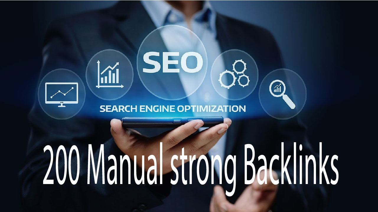 I will do manually create for google rank 200 usa backlinks