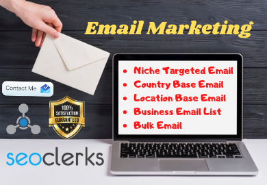 I will collect your targeted niche email list 1K email