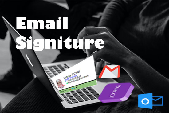 I will create Email signatures and Business cards