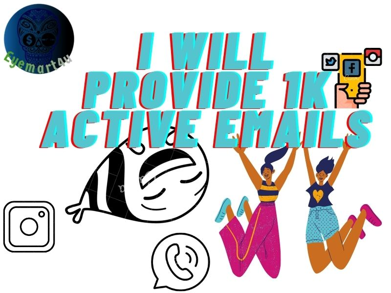 I will provide targeted active Emails