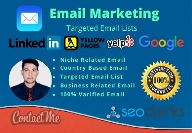 I will get you 1000 email lists