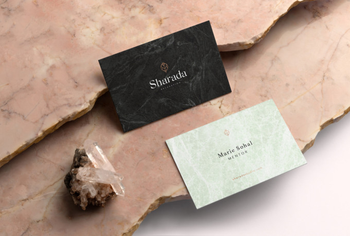 I will do 2 luxury business card designs