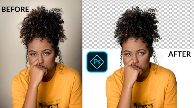 I will do background removal clipping path