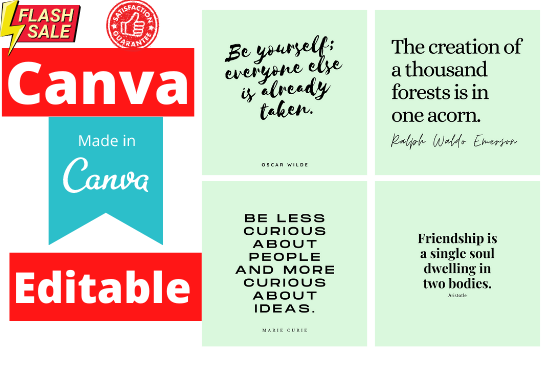 300 social media quotes for instagram canva editable,  loved Quotes,  Inspirational Quotes