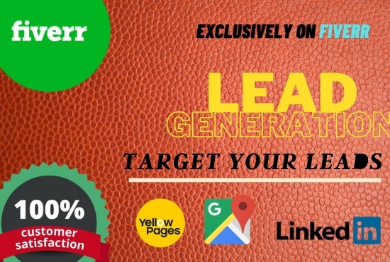 Lead generation from website, linkIdn, google maps, etc