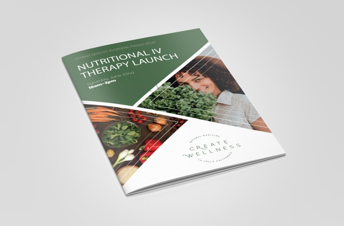 Professionally design a flyer,  brochure,  catalog or booklet
