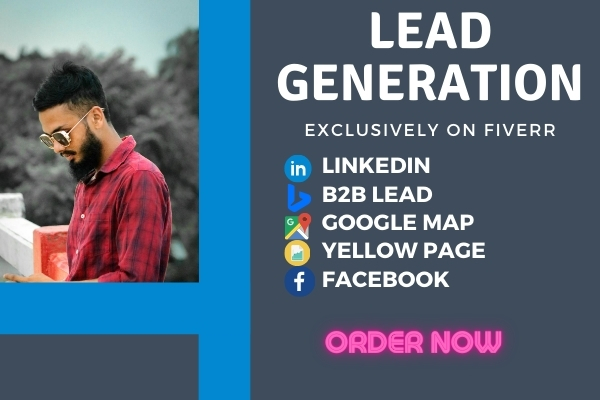 I will do any all kinds of lead generation work