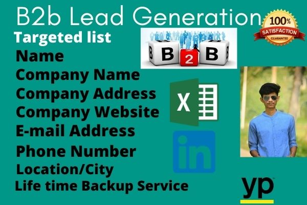 i provide valid lead generation service for you