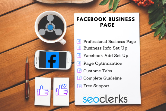 I will create and set up an exceptional business page for Facebook