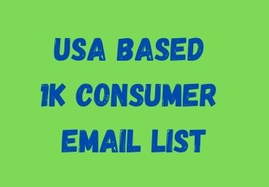I will manage targeted US based 1000 Email list