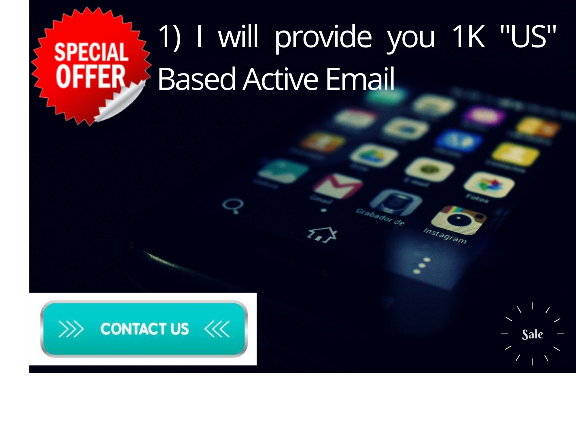 I will provide you 1K US Based Active Email