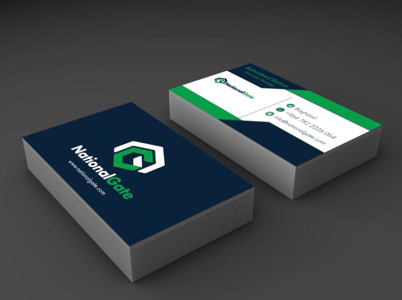 I will create a business card design