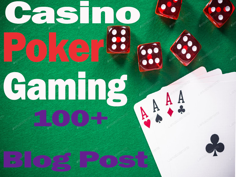 I Will Create 100+ Casino,  Poker,  Gambling HQ Blog Comment Backlinks Manually