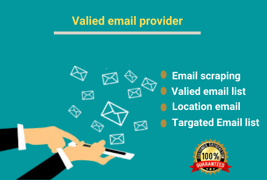 I will collect targeted verified and valid email list any location