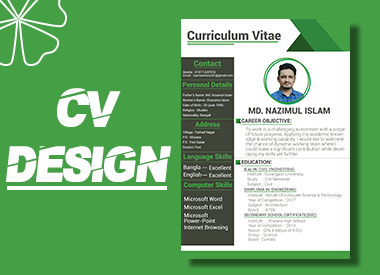 Professional & creative CV Design