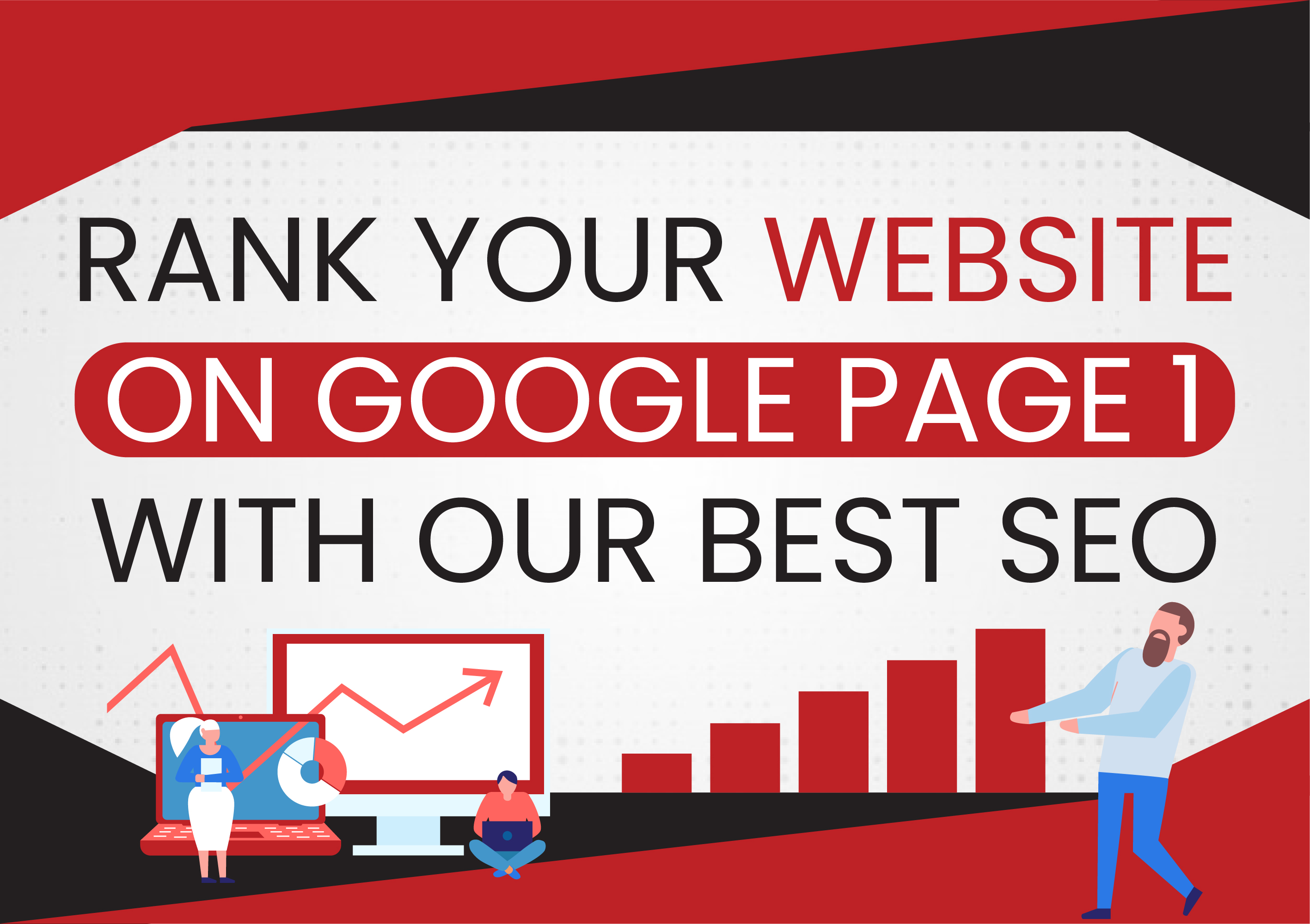 Rank your Website on Google Page 1 with Our Best SEO