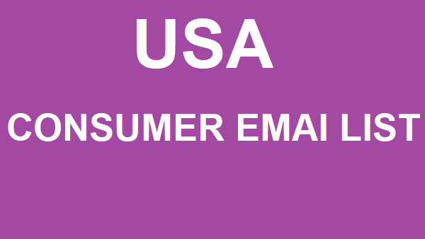 Are you looking to consumer email list