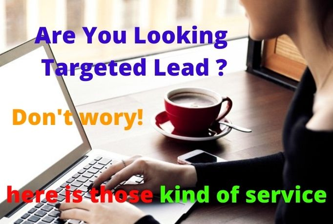 I will provide you 50 verified lead for your targeted country