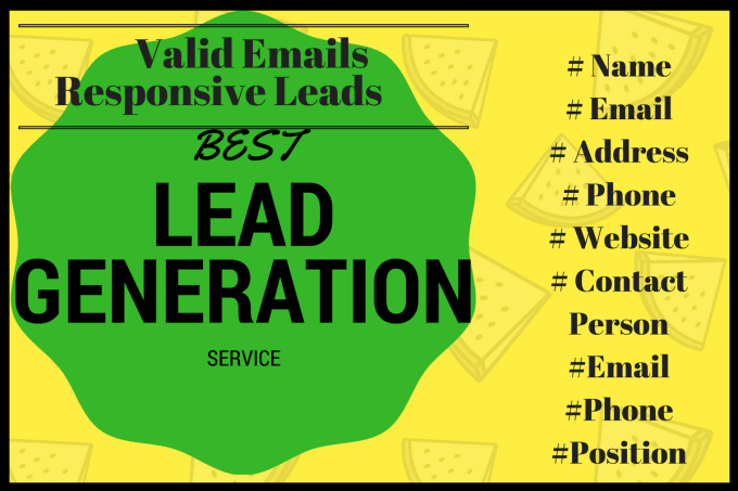 I will generate targeted leads and find valid email address