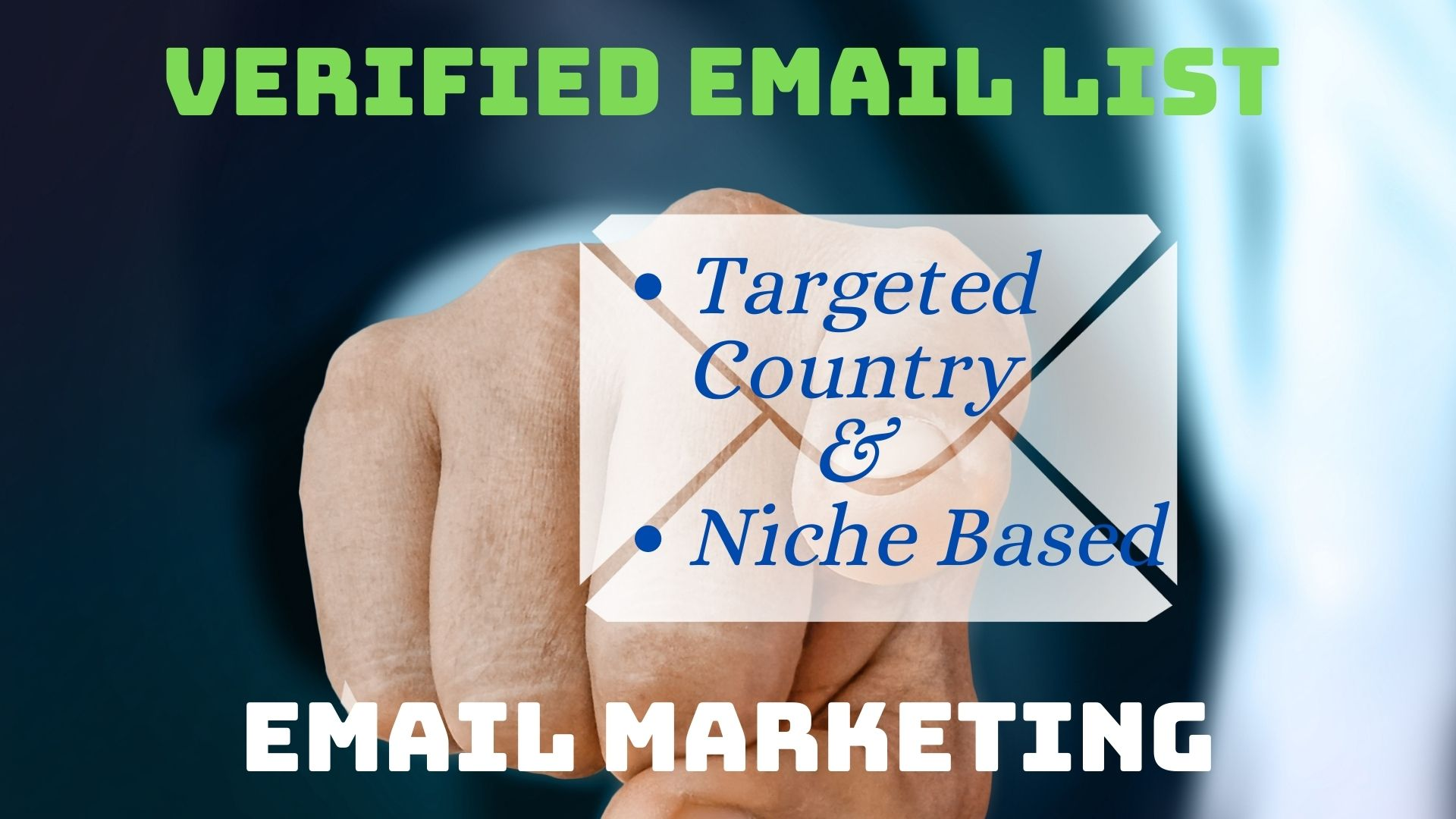 1000 verified & active email list for your email marketing