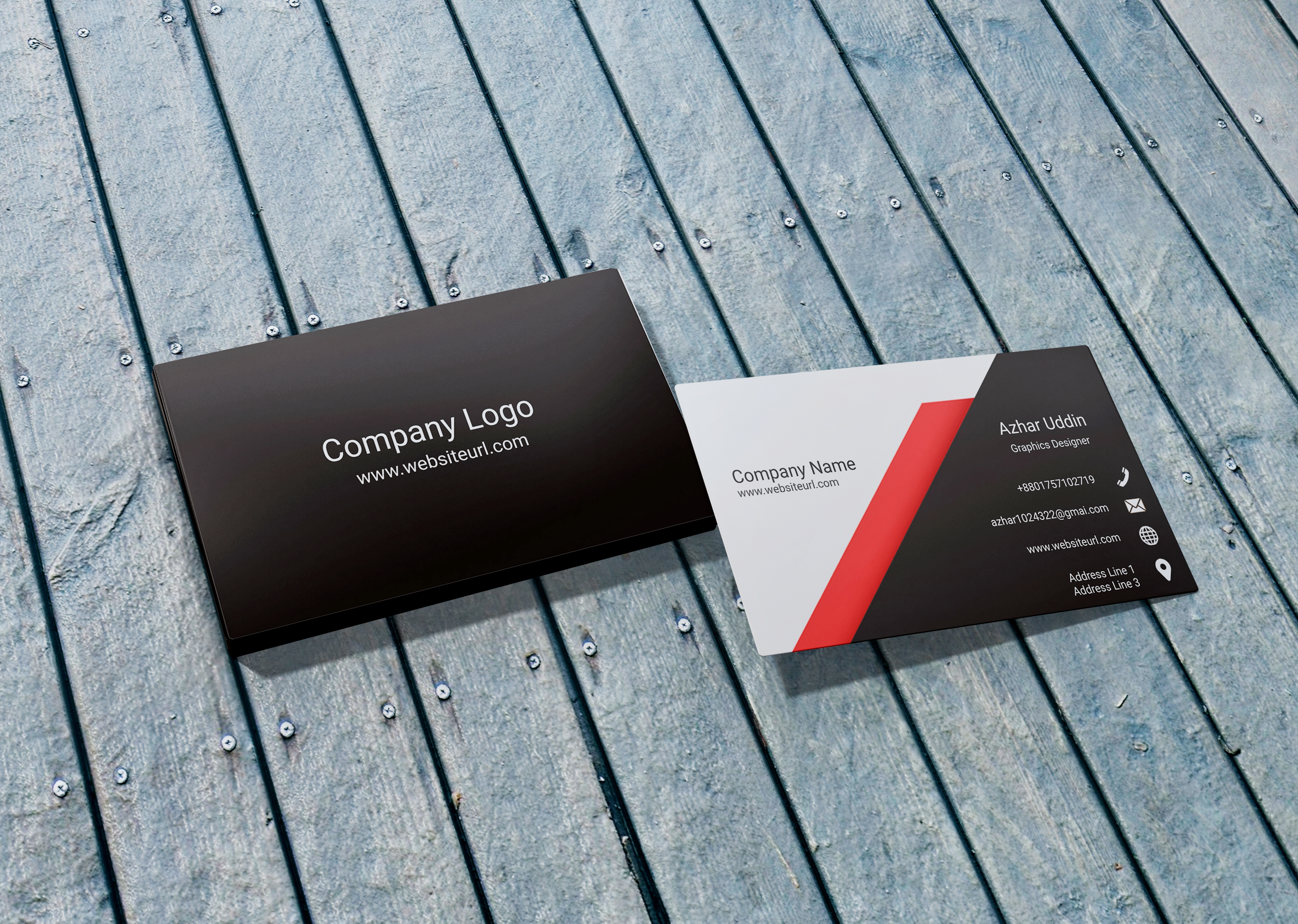 Smart Business Card Design For You.