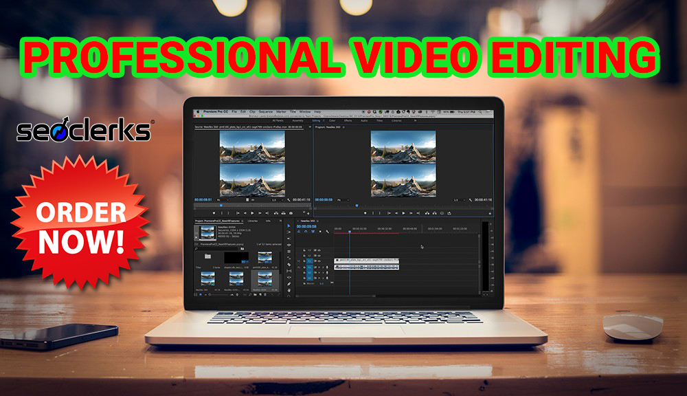 I will be your professional video editor for all time