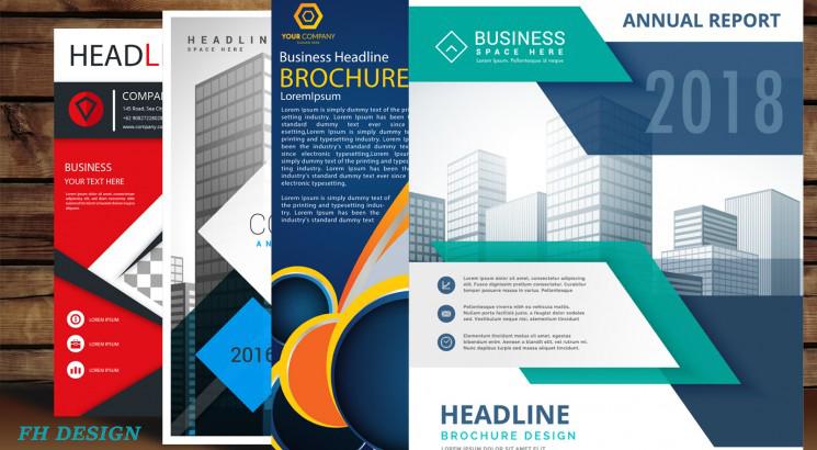 I will design business flyer, leaflet, trifold brochure, postcard,poster and banner