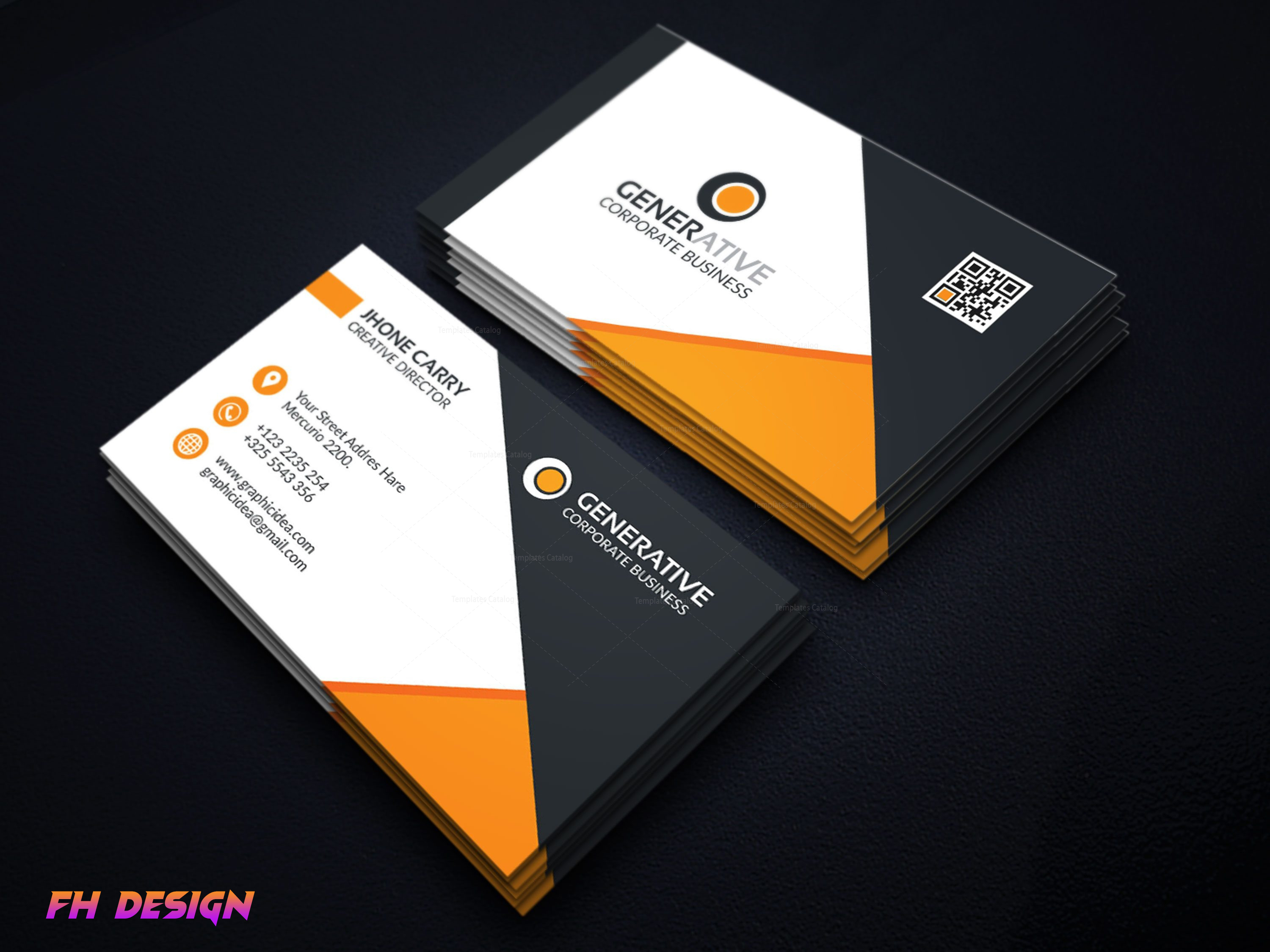 I will provide professional, creative and unique business card design