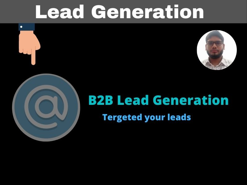 I will provide b2b lead generation and targeted lead generation email list