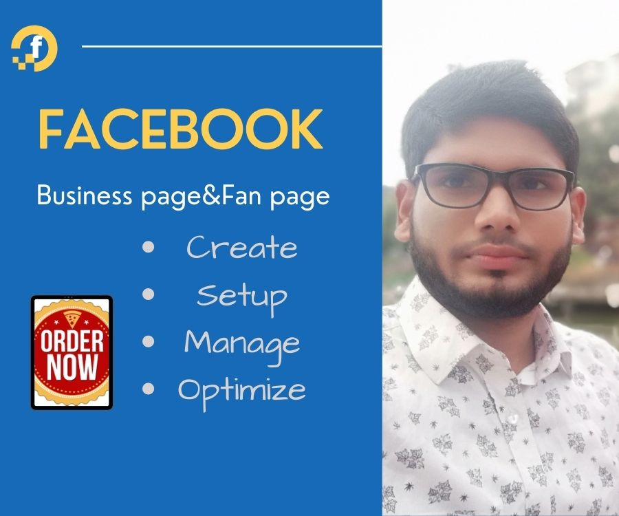 I will Create,  Set up and Optimize you your Facebook page