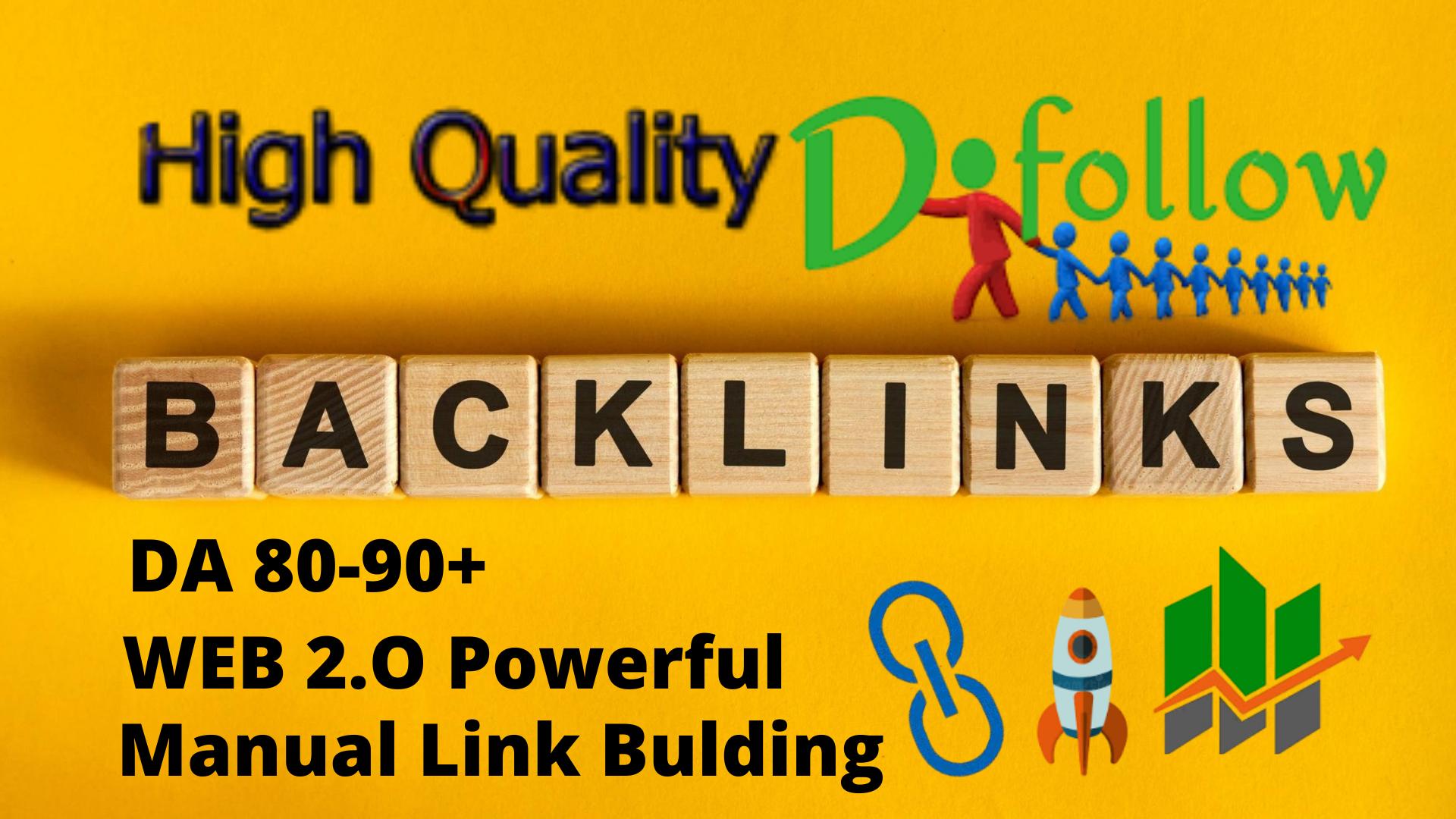 high PR authority link building,  backlinks