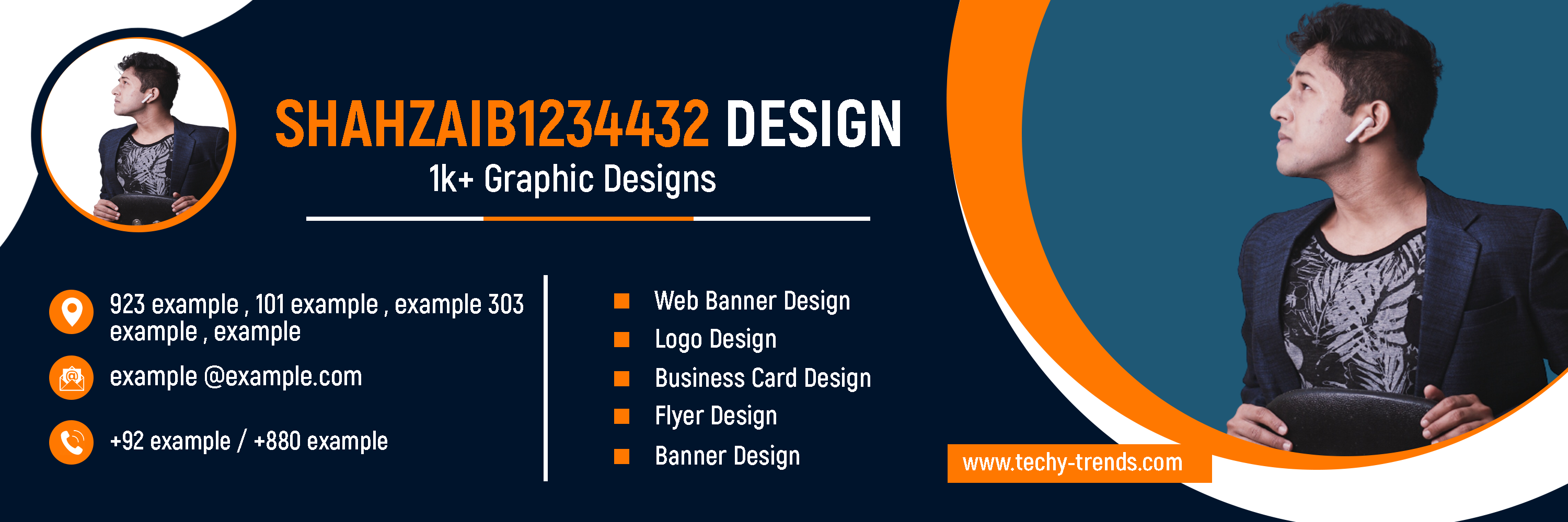 I Will Design Awesome Looking Web Banner,  Flyer,  Ads & Business Card Design In 24 Hours