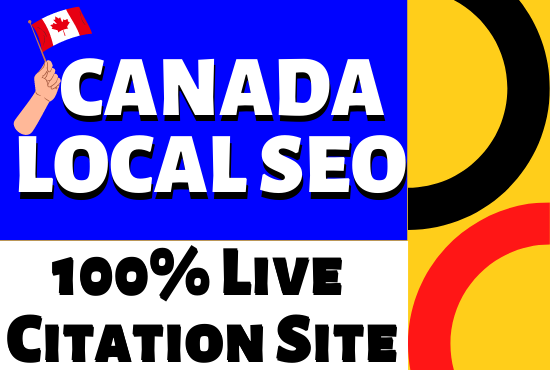 I will do Best Live local SEO citation for Canada