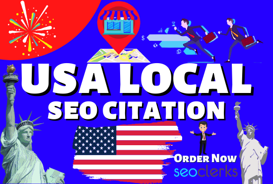 I will do local citations or local listings for USA