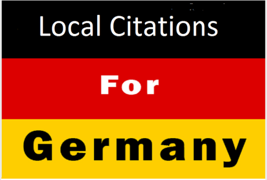 I will create 35 German local citations business listing for top google ranking
