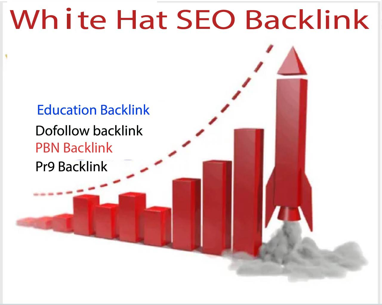 High authority white seo 1K backlink to rank your website high on google